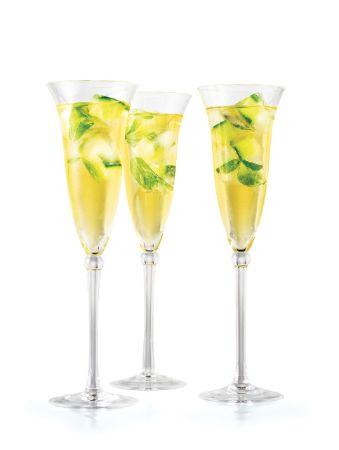 Champagne Julep kokteyl