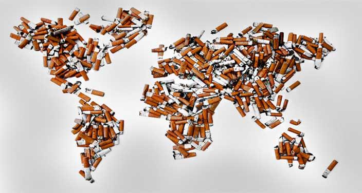 Rakamlarla Dünyada Sigara Endüstrisi