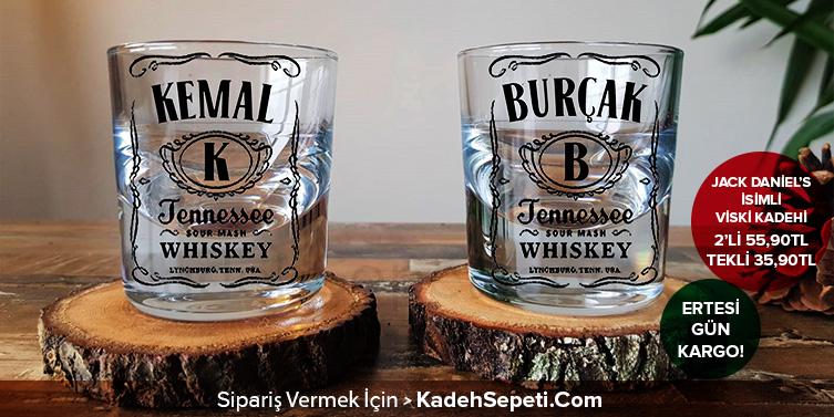 Viski Fiyatları Kişiye Özel Viski Bardağı İsimli Viski Bardağı Kadeh Sepeti